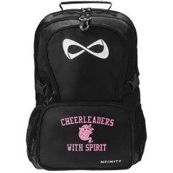 Glitter Cheerleader That's The Spirit Nfinity Bag