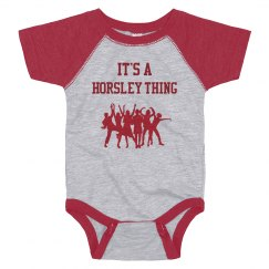 horsley onesie baseball