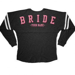 Custom Bride To Be Jersey