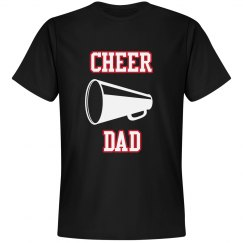 Cheer Dad with megaphone