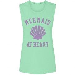 Rhinestone Mermaid At Heart