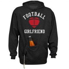 Football Girlfriend Beer