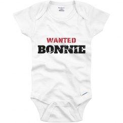 Wanted Bonnie