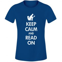 Keep and calm read on