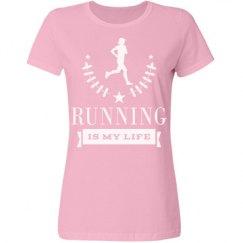 Cross Country Running Marathon Runner T-shirt