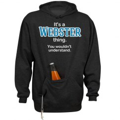 Its a Webster thing