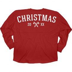 Custom Christmas Candy Jersey