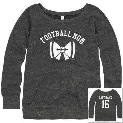 Rhinestone Custom Football Mom