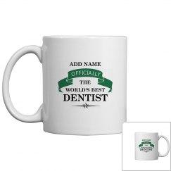 World's best Dentist Mug