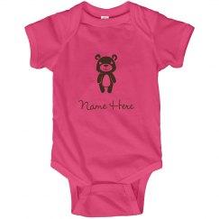 Custom Cartoon Bear Baby