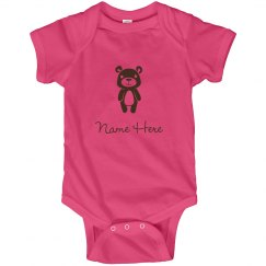 Custom Cartoon Bear Baby