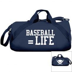 Baseball equals life