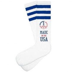 Made In USA Drinking Socks