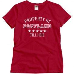 Property of Portland