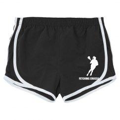 Black Lacrosse Shorts