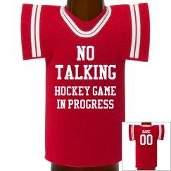 Hockey Game In Progress