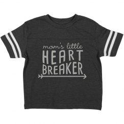 Mom's Little Heart Breaker Infant Tee