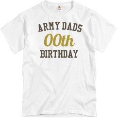 Customize army dad birthday