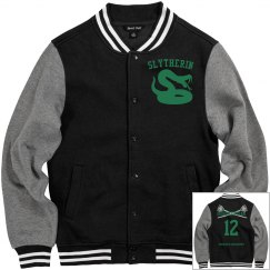 Slytherin letterman jacket
