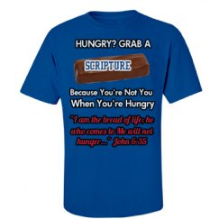 Hungry? Grab A Scripture Mle Tee