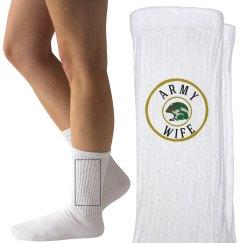 Army wife socks