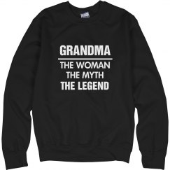 The Legend Of Grandma Sweater