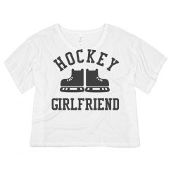 Cute Hockey Girlfriend Crop