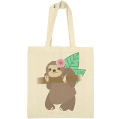 Sloth With Flower
