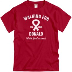 AIDS Walk For Donald