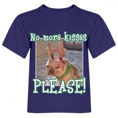 No More Kisses tee