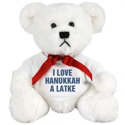 Cute Hanukkah Bear
