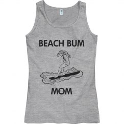 Beach bum mom
