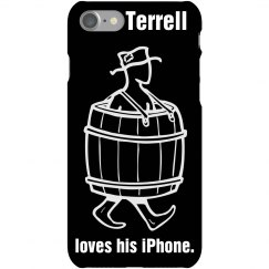Terrell Loves His iPhone