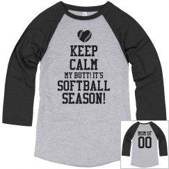 Keep Calm Softball Mom