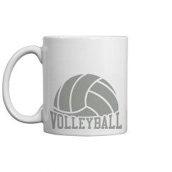 Volleyball Logo Mug