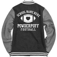 Cute Powderpuff Football Jackets