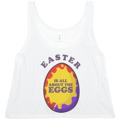 All About The Eggs Funny Easter