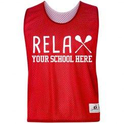 Custom Relax Lacrosse Pinnie