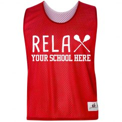 Custom Relax Lacrosse Pinnie