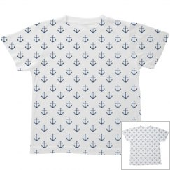 Little Sailor Print Youth