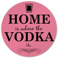 Vodka In the Home