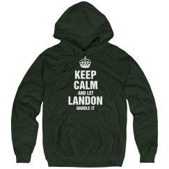 Let landon handle it