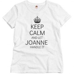 Let Joanne handle it