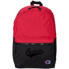 Hot Pink Cheerleader Bag