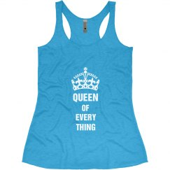 Queen of Everything racr Blu