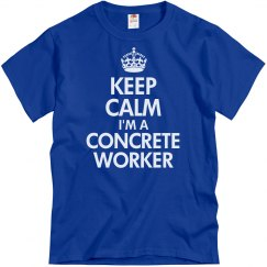 Concrete worker
