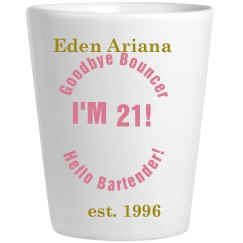 Ariana's shot glass