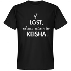 if lost customized tee