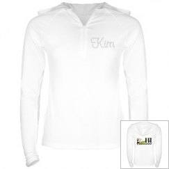 White KimFIT Jacket