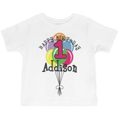 1 year old! Addison